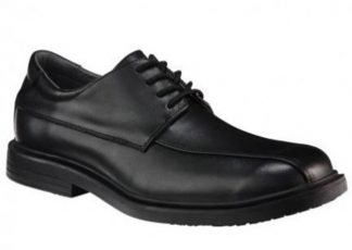 KingGee Hargraves Lace Up Soft Toe Shoe - Black