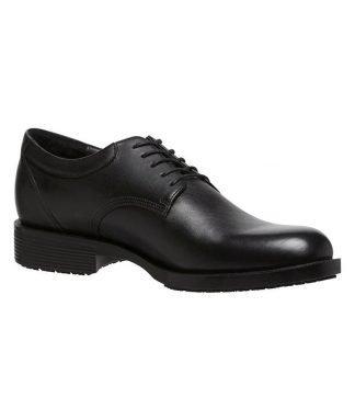 KingGee Baron Mens Lace Up Safety Shoe - Black