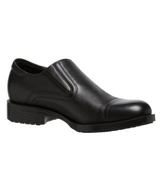 KingGee Earl Slip On Soft Toe Shoe - Black