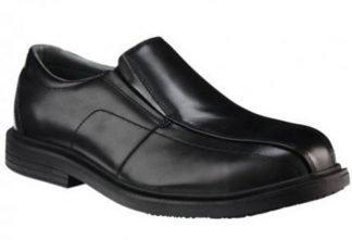 KingGee Collins Hard Toe Corporate Shoe - Black