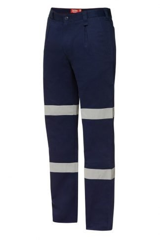 Hard Yakka Foundations Cotton Drill Pant With Double Hoop Tape