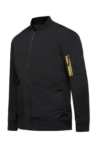 Hard Yakka 3056 Bomber Jacket With Quilted Lining & Durable Water Repellent Finish