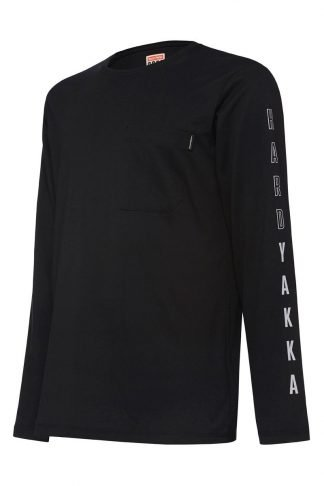 Hard Yakka 3056 Long Sleeve Tee With Graphic
