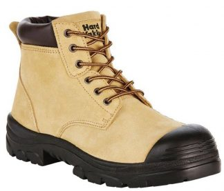 Hard Yakka Gravel 150mm (6 inch) Lace Boot - Sand Suede