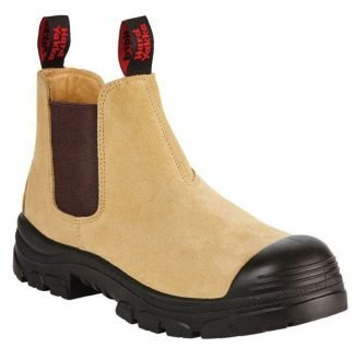 Hard Yakka Grit Suede Pull Up Boot