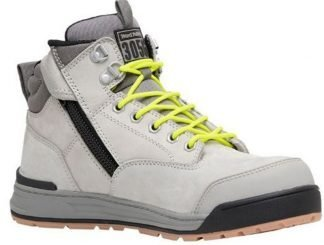 Hard Yakka 3056 Side Zip (5 Inch) Boot 130mm - Grey