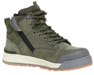 Hard Yakka 3056 Side Zip (5 Inch) Boot 130mm - Olive
