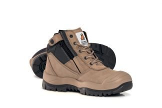 Mongrel Zip Sider Boot with Scuff Cap