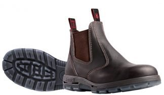 Redback Slip On Elastic Side Boot