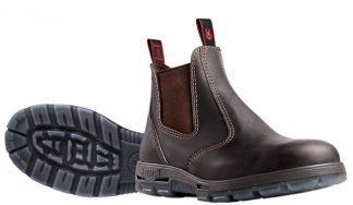Redback Elastic Side Bobcat Safety Toe Boot