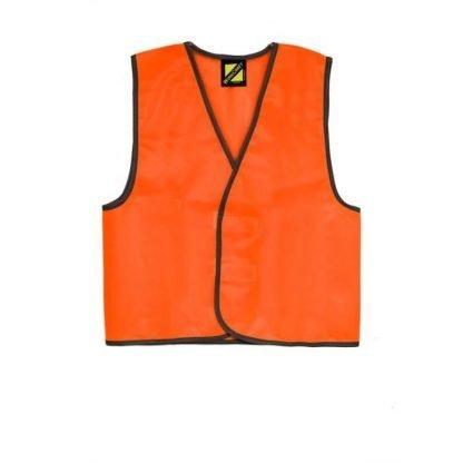 WorkCraft Kids Hi Vis Safety Vest WVK800
